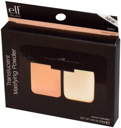E.L.F. Cosmetics, Translucent Matifying Powder, Translucent, 0.13 oz (3.8 g) Cara