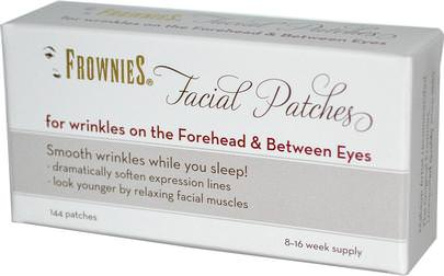 Belleza, Cuidado Facial Frownies, Facial Patches, For Foreheads & Between Eyes, 144 Patches