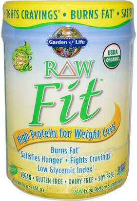 Salud, Dieta Garden of Life, RAW Organic Fit, High Protein for Weight Loss, Original, 15.1 oz (427 g)