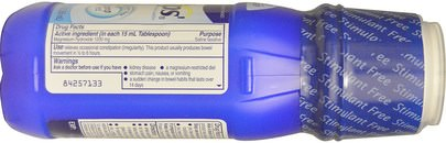 Phillips, Genuine Milk of Magnesia, Saline Laxative, Original, 12 fl oz (355 ml) Salud, Estreñimiento