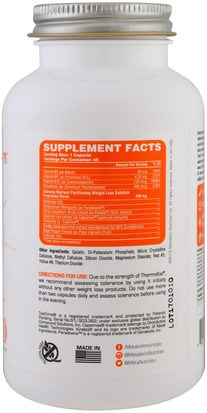 Metabolic Nutrition, Thermokal, Stimulant Weight Loss Solution, 45 Capsules Salud, Dieta