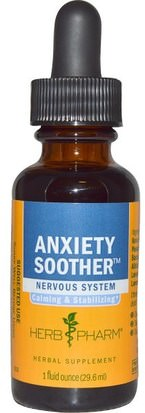 Salud, Ansiedad Herb Pharm, Anxiety Soother, 1 fl oz (29.6 ml)