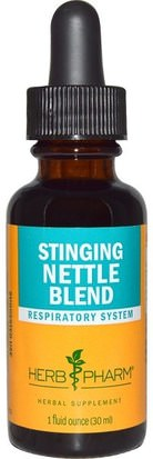 Hierbas, Ortigas, Picadura, Raíz De Ortiga Herb Pharm, Stinging Nettle Blend, 1 fl oz (30 ml)