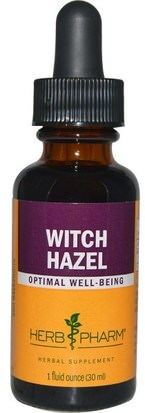 Salud, Piel, Hamamelis Herb Pharm, Witch Hazel, 1 fl oz (30 ml)