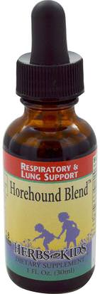 Salud, Pulmón Y Bronquial, Hierbas, Marrubio Herbs for Kids, Horehound Blend, 1 fl oz (30 ml)