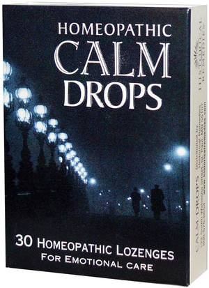 Suplementos, Homeopatía Mujeres Historical Remedies, Homeopathic Calm Drops, 30 Homeopathic Lozenges