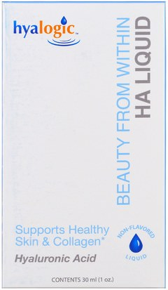 Salud, Mujeres, Anti Envejecimiento Hyalogic LLC, Beauty From Within, HA Liquid, 1 oz (30 ml)