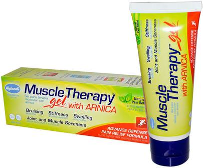 Alivio Del Dolor De La Salud, El Dolor, La Homeopatía Hylands, Muscle Therapy, Gel, with Arnica, 3 oz (85 g)