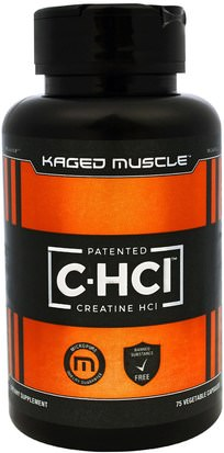 Deportes, Creatina, Músculo Kaged Muscle, Patented C-HCI, 75 Veggie Caps