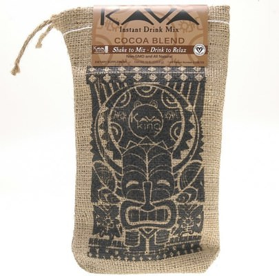 Hierbas, Kava Kava Kava King Products Inc, Instant Drink Mix, Cocoa Blend, 1/2 lb (226.8 g)