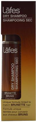 Baño, Belleza, Champú, Argan Lafes Natural Body Care, Dry Shampoo, Brunette, 1.7 oz (48.11 g)