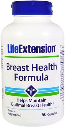 Salud, Mujeres Life Extension, Breast Health Formula, 60 Capsules