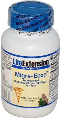 Salud, Dolor De Cabeza Life Extension, Migra-Eeze, 60 Softgels