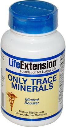 Suplementos, Minerales, Minerales Life Extension, Only Trace Minerals, 90 Veggie Caps