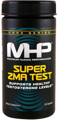 Deportes, Zma Maximum Human Performance, LLC, Super ZMA Test, 120 Capsules