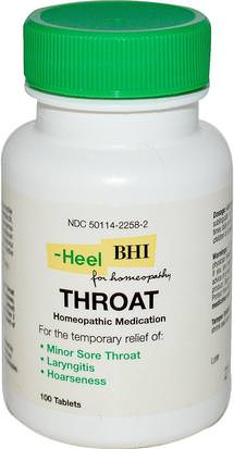Salud, Gripe Fría Y Viral, Aerosol Para El Cuidado De La Garganta MediNatura, BHI, Throat, Homeopathic Medication, 100 Tablets