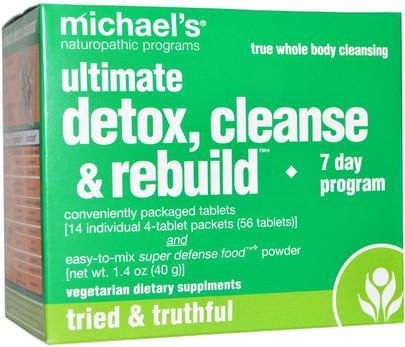 Salud, Desintoxicacion Michaels Naturopathic, Ultimate Detox, Cleanse & Rebuild, 7 Day Program