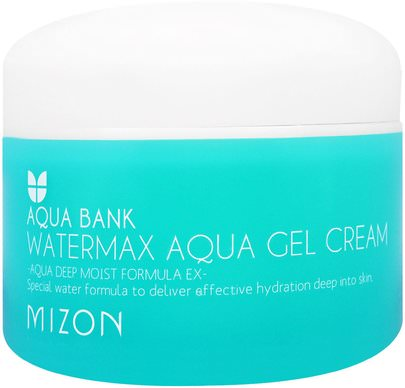 Baño, Belleza, Cuidado Facial, Cremas, Lociones Mizon, Aqua Bank, Watermax Aqua Gel Cream, 4.22 oz (125 ml)