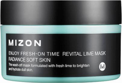 Belleza, Cuidado Facial Mizon, Enjoy Fresh-On Time, Revital Lime Mask, 3.38 fl oz (100 ml)