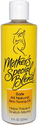 Salud, Embarazo, Piel, Cicatrices Mountain Ocean, Mothers Special Blend, Skin Toning Oil, 8 fl oz (237 ml)