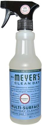 Hogar, Productos De Limpieza Para El Hogar Mrs. Meyers Clean Day, Multi-Surface Everyday Cleaner, Bluebell Scent, 16 fl oz (473 ml)