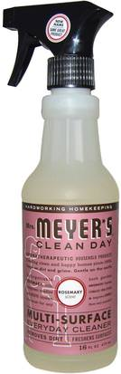 Hogar, Productos De Limpieza Para El Hogar Mrs. Meyers Clean Day, Multi-Surface Everyday Cleaner, Rosemary Scent, 16 fl oz (473 ml)