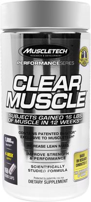 Deportes, Músculo Muscletech, Clear Muscle, 168 Liquid Caps