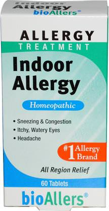 Salud, Alergias, Alergia NatraBio, BioAllers, Allergy Treatment, Indoor Allergy, 60 Tablets