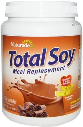 España Naturade, Total Soy, Meal Replacement, Chocolate, 19.1 oz (540 g)