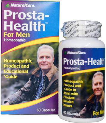 Salud, Hombres, Próstata Natural Care, Prosta-Health, For Men, 60 Capsules