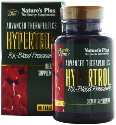 Salud, Presión Arterial Natures Plus, Advanced Therapeutics, Hypertrol RX Blood Pressure, 60 Tablets