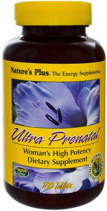 Vitaminas, Multivitaminas Prenatales, Mujeres Natures Plus, Ultra Prenatal, 180 Tablets