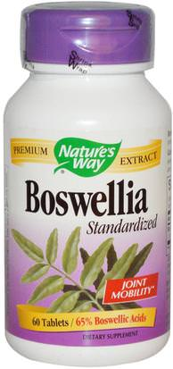 Suplementos, Salud, Mujeres, Boswellia Natures Way, Boswellia, Standardized, 60 Tablets