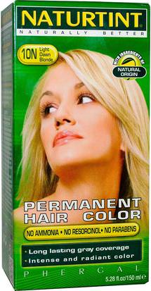 España Naturtint, Permanent Hair Color, 10N Light Dawn Blonde, 5.28 fl oz (150 ml)