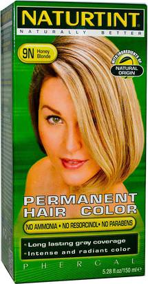 España Naturtint, Permanent Hair Color, 9N Honey Blonde, 5.28 fl oz (150 ml)