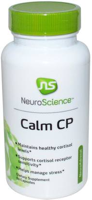 Salud, Anti Estrés NeuroScience, Inc., Calm CP, 60 Capsules