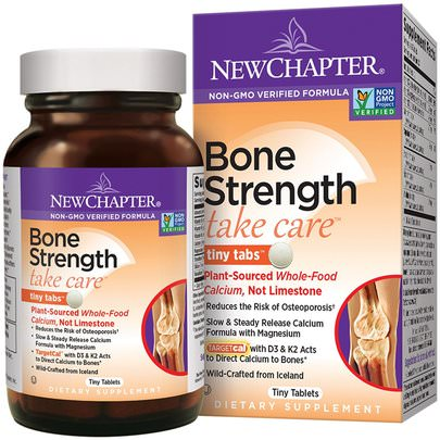 Salud, Hueso, Osteoporosis New Chapter, Bone Strength Take Care, 240 Tiny Tablets