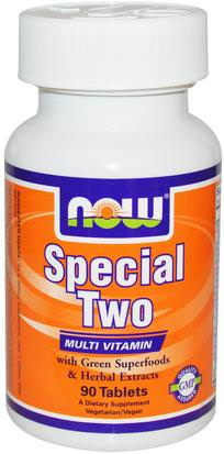 Vitaminas, Multivitaminas Now Foods, Special Two, Multi Vitamin, 90 Tablets