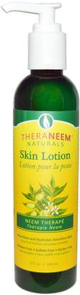 Baño, Belleza, Cuidado Corporal, Loción Corporal Organix South, TheraNeem Naturals, Skin Lotion, Neem Therap, 8 fl oz (240 ml)