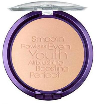 Baño, Belleza, Maquillaje, Polvo Compacto Physicians Formula, Inc., Youthful Wear, Illuminating Finish, Step 3, Translucent, 0.33 oz (9.5 g)