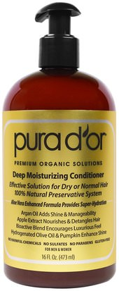 Baño, Belleza, Acondicionadores Pura Dor, Deep Moisturizing Conditioner, 16 fl oz (473 ml)