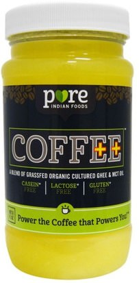 Comida, Café Pure Indian Foods, Coffee++, 8 fl oz
