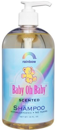 Baño, Belleza, Champú Rainbow Research, Baby Oh Baby, Herbal Shampoo, Scented, 16 fl oz