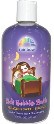 Baño, Belleza, Baño De Burbujas, Baño De Burbujas Para Niños Rainbow Research, Kids Bubble Bath, Relaxing Sweet Dreams, 12 fl oz (360 ml)