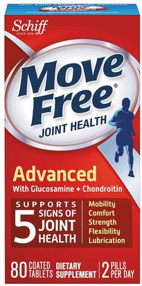 Salud, Hueso, Osteoporosis, Salud De Las Articulaciones, Schiff Move Free Schiff, Move Free, Joint Health, 80 Coated Tablets