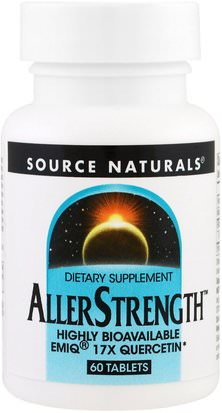 Salud, Alergias, Alergia Source Naturals, AllerStrength, 60 Tablets