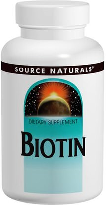 Vitaminas, Vitamina B, Biotina Source Naturals, Biotin, 5 mg, 120 Tablets