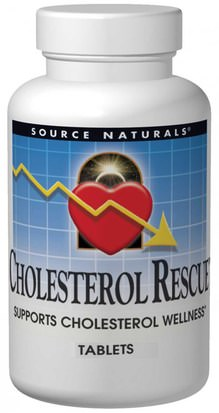 Salud, Colesterol, Colesterol Source Naturals, Cholesterol Rescue, 60 Tablets