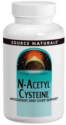 Suplementos, Aminoácidos, Nac (N Acetil Cisteína) Source Naturals, N-Acetyl Cysteine, 600 mg, 120 Tablets