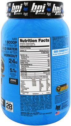 BPI Sports, Best Protein, Advanced 100% Protein Formula, Cookies and Cream, 2.1 lbs (952 g) Deportes, Suplementos, Proteína De Suero De Leche